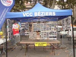 Le stand du VCCBéziers